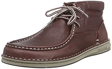 Birkenstock Shoes Pasadena High Herren, Derby Homme - Marron (embossed Chestnut), 42 EU