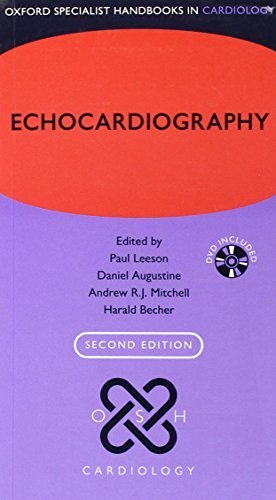 Echocardiography (Oxford Specialist Handbooks in Cardiology) 2nd Edition by Leeson, Paul, Mitchell, Andrew R.J., Becher, Harald, Augusti (2012) Flexibound -