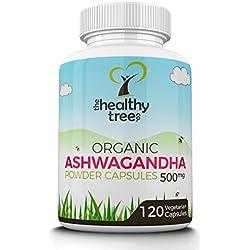 Ashwagandha, Healthy Tree Company, 120 Cápsulas