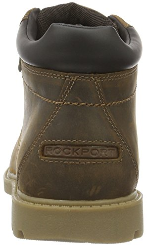 Rockport Rugged Bucks Waterproof, Bottes Classiques homme Marron - Brown (Boston Tan)