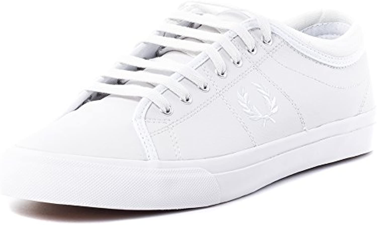 Fred Perry Kendrick Tipped Cuff Leather Herren Sneaker Weiß