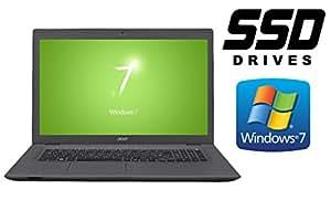 Acer Aspire E5-772G ~ 256GB SSD + 500GB HDD ~ WINDOWS 7 PROF. ~ 44cm (17.3 FULL HD MATT)