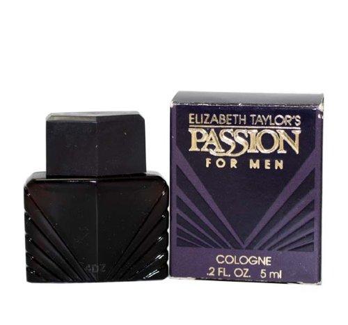 Passion POUR HOMME par Elizabeth Taylor - 6 ml Cologne Mini