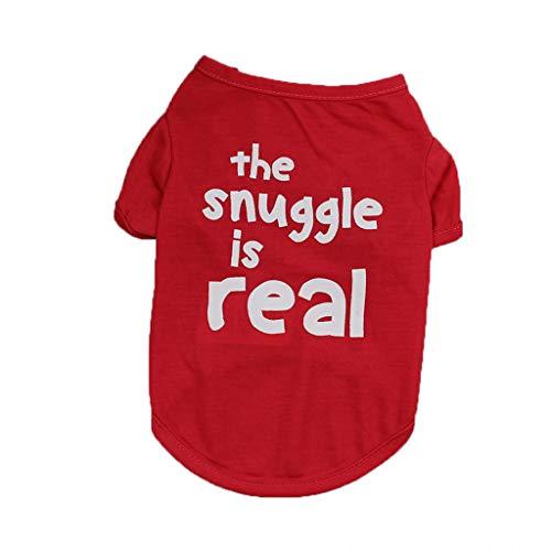 Bequeme Kostüm Babys - Pet Kleidung,Mode Schoßhund Kleidung,Polyester T-Shirt Welpen