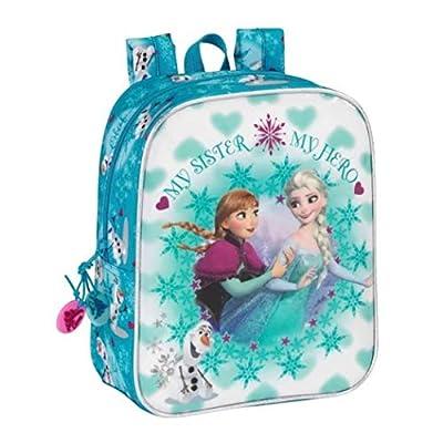 Mochila Escolar Disney Frozen con Bandolera, diseño de Frozen, 14