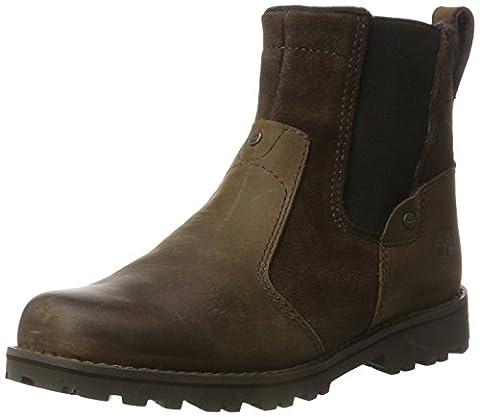 Timberland Unisex-Kinder Asphalt Trail Chelsea Boots, Braun (Brown 026 Connection Full Grain), 36