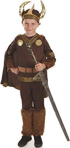 Woche Für Kostüm Buch - Fancy Me Jungen Wikinger Krieger Historisch Militär Job Tv Film Welttag des Buches-Tage-Woche Kostüm Kleid Outfit 4-12 Jahre - 6-8 Years