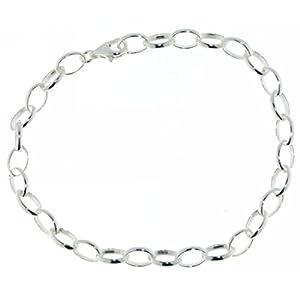 Derby Gliederarmband – ideal für Charms – Bettelarmband echt Silber 28375-19