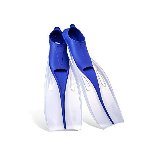 BJL Palmes - Palmes Professionnelles pour la plongée Libre Palmes pour Enfants Adultes plongée en apnée Longue plongée avec Tuba équipement de plongée Palmes (Color : B, Size : S)