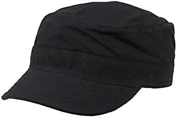 STARSTEP Baseball Black Commando Cap for Men and Women