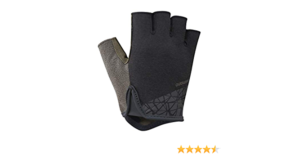 Shimano Transit Full Finger Raven New Men/'s Bike-riding-cycle Gloves Large