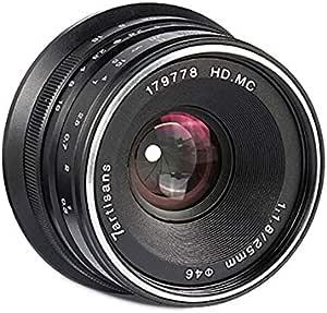 7artisans 25mm F1 8 Manueller Fokus Prime Fixiertes Kamera