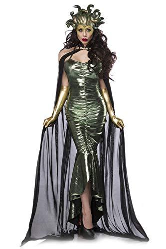 Mask Paradise Mystic Medusa Kostüm Damenkostüm Medusakostüm Karneval Fasching