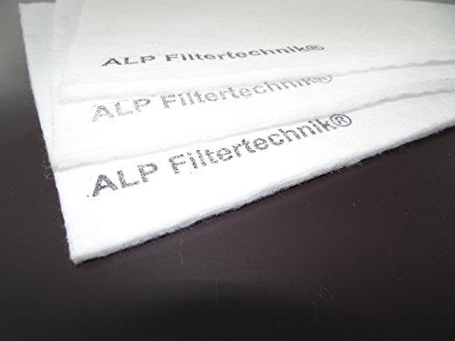 Filtermatte F8 2mx1m ca.4-8mm 300g/m² in dichter Ausführung - Feinfilter Lüftung Allergiker Pollenfilter Zuluftfilter Lüftungssystem Pollenfilter