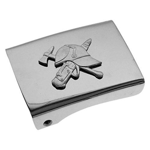 Preisvergleich Produktbild Feuerwehr Helm Strahlrohr Axt Koppelschloss