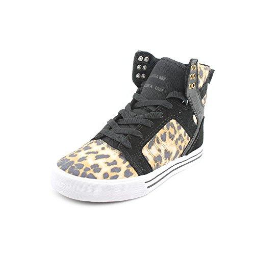 Supra Skytop, Baskets mode mixte adulte Marron - Cheetah/Black-White