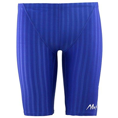 Panegy Maillots de Bain de Compétition Homme Natation Boxers de Bain/Short de Bain/Caleçon de Bain Short Slip Noir Bleu Navy Eté Sport/Plage/Mer Bermu