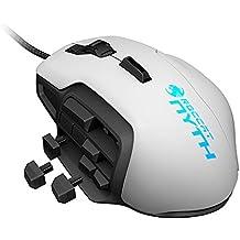 Roccat Nyth - Modular MMO Ratón para Gaming 12000 dpi, Color Blanco