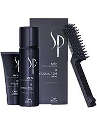 WELLA SP MEN Gradual Tone Brown und Shampoo, 1er Pack (1 x  60ml, 1 x 30 ml)