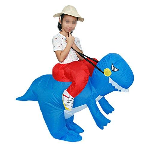 inflable Traje Divertido para Ninos Disfraces Hinchable Dinosaurio Cosplay para Fiesta