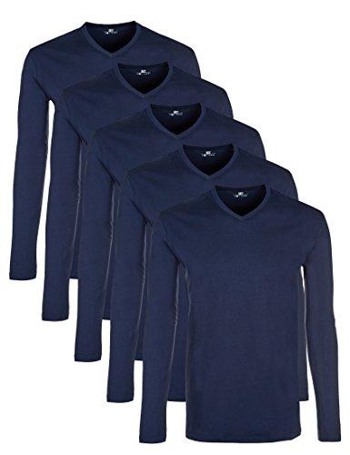 Lower East Camiseta de manga larga con cuello de...