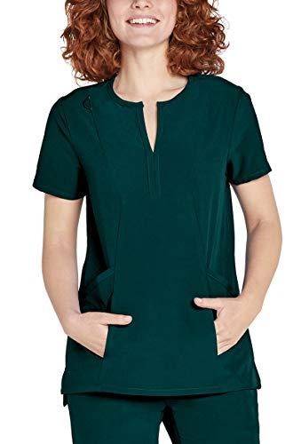 Uniform Scrub Top (Adar Addition Scrubs for Women - Bib Front Smock Scrub Top)