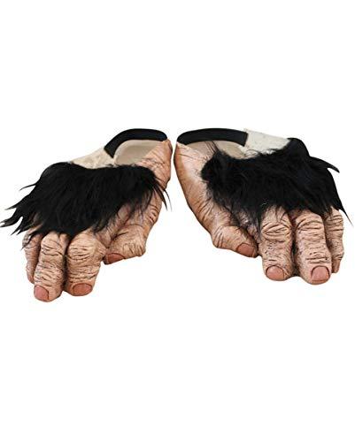 Fuß Kostüm Schimpanse - Äffchen Latex Füße