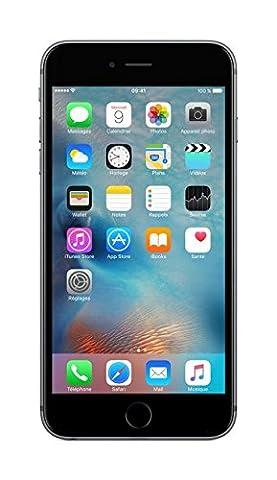 Apple iPhone 6s Plus Smartphone débloqué 4G (Ecran : 5,5 pouces - 128 Go - iOS 9) Gris Sidéral (import europe)