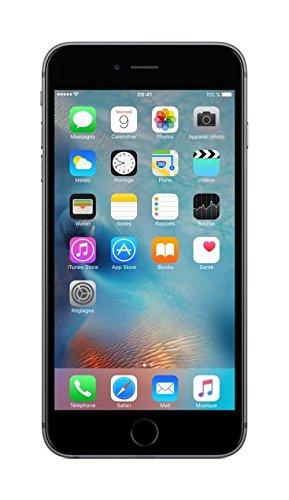 Apple iPhone 6s Plus 5 5  SIM   nica 4G 128GB Gris - Smartphone  14 cm  5 5    128 GB  12 MP  iOS  10  Gris