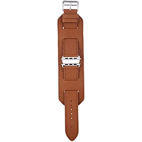 Apple Watch Band Serie 1Serie 2, in pelle cinturino di ricambio per Apple Watch, serie (Formula 1 Womens Watch)