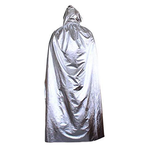 (TIFIY Halloween Damen Herren Cosplay Hooded Outwear Vertuschen Strand Kostüm Zubehör Party Strand Kleidung Horror Oversize Tunika)