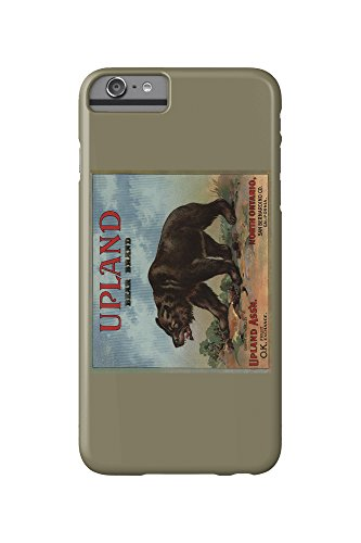 upland-bear-brand-north-ontario-california-citrus-crate-label-iphone-6-plus-cell-phone-case-slim-bar