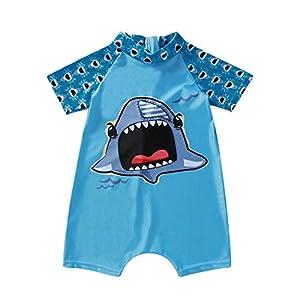 Heetey - Traje de baño para niña, para bebés, niños, niñas, Mono, Dibujos Animados, Verano, Traje de baño, Traje de baño 16
