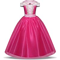 JJAIR Poco Vestido Muchachas de la Princesa, Princesa Conjuntos del Fiesta de Halloween del Fiesta de Halloween de Vestir Traje genérico, 130