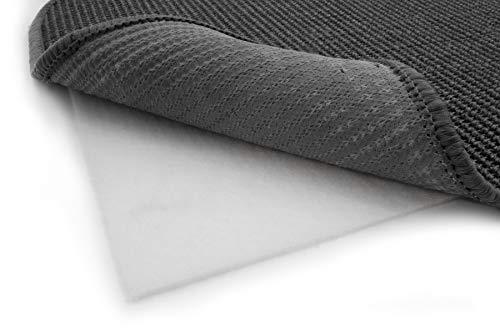 Antirutschmatte Teppichunterlage VLIES STOP - 190 x 290 cm Zuschneidbar, Fußbodenheizung Geeignet, Waschbar, Teppichstopper Teppichgleitschutz Anti-Rutsch-Unterlage, Anti-Rutschmatte für Teppiche