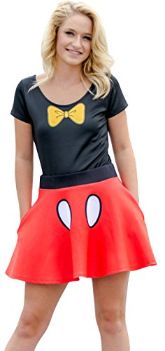 Disney Minnie Mouse Bodysuit and Skirt Costume Set (Adult XX-Large)