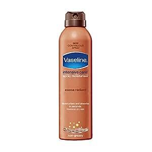 Vaseline Intensive Care Cocoa Radiant Spray Moisturiser, 190ml