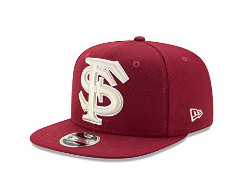 70a49194c5f1b New Era NCAA Florida State Seminoles Logo Grand Snap 9Fifty Original Fit  Cap