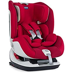 Chicco Seat Up 012, Silla de coche grupo 0+/1/2 Isofix, rojo