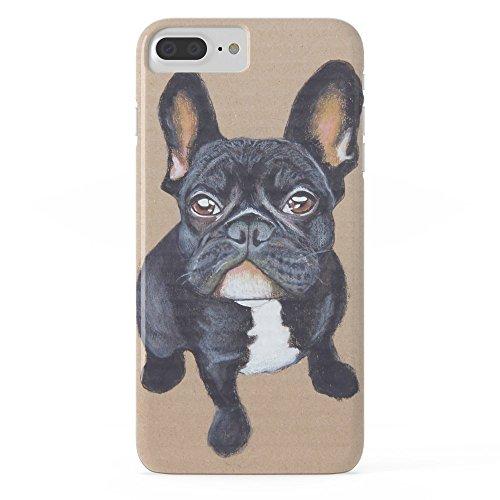 Roses Garden Handy Schutzhülle protectivedesign Hartschale Hülle French Bulldog Slim Case iPhone 7Plus Bulldog-handy-fall