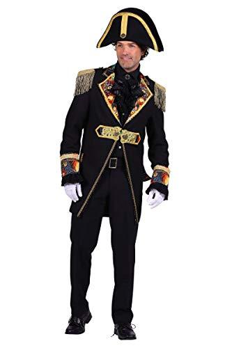 Kostüm Jacke Admiral - Thetru Herren Kostüm Admiral Jacke Uniform Karneval Fasching Gr.S