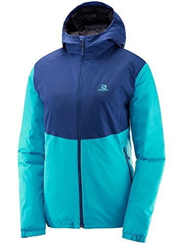 Salomon Essential Insulated Jacket W Bleu
