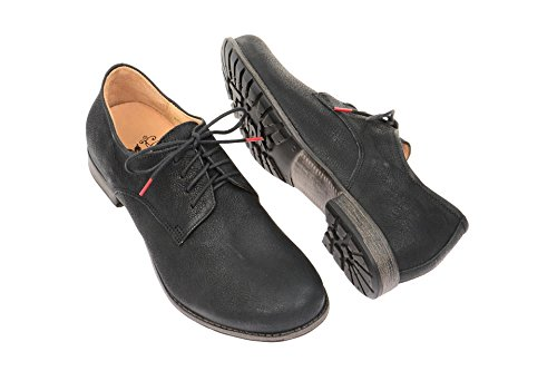 Think! Denk Halbschuh, Derbies à lacets femme Black - Black