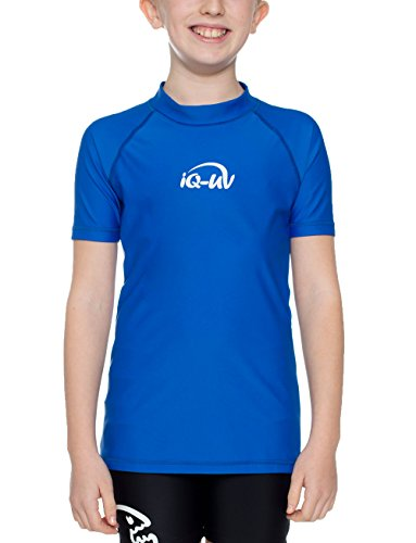 iQ-Company Kinder UV Kleidung 300 Shirt Youngster, Dark-Blue, 164/170