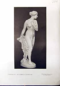 Vedettes Nues de Kaesbach Jardin D'Oliviers de Sculpture en Naussicaa Fattori 1912