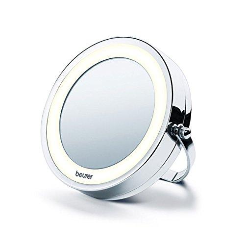 Beurer BS 59 2-in-1 Kosmetikspiegel, chrom