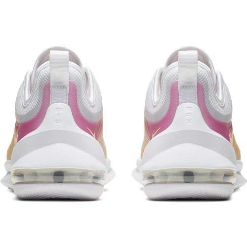 Nike Damen WMNS Air Max Axis Prem Leichtathletikschuhe, Mehrfarbig (White/Melon Tint/Laser Fuchsia 000), 40.5 EU