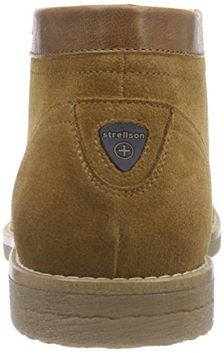 Strellson New Howard Mid Lace Suede, Derby homme Marron - Braun (703)
