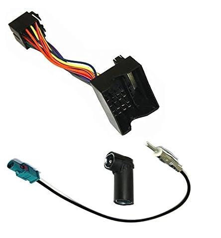 Câble adaptateur faisceau autoradio antenne pour BMW Série 1 3