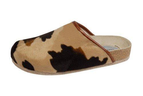Weeger Unisex-Erwachsene 48013 Pantoffeln, Braun Muhkuh, 39 EU